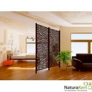 Mozaik dekorációs panel barna