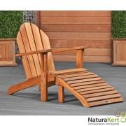 Relax kerti fotel keményfából