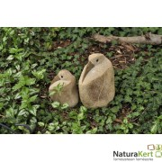 Gránit figura - Ülő madár