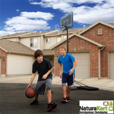 Kosárlabda palánk állítható magasságú
