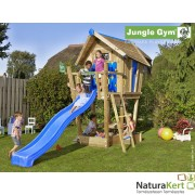 Jungle Gym Crazy Playhouse magasított terasszal