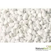 Márvány díszkavics, Carrara-fehér, 16-25mm