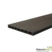 Kompozit/WPC teraszdeszka XXL, 2,3x25x300cm